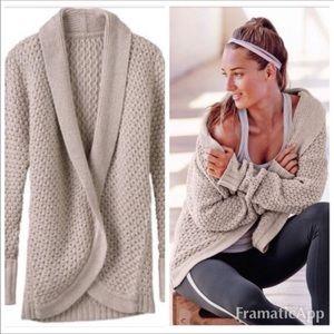 Athleta Saturday Sweater Cream Large
